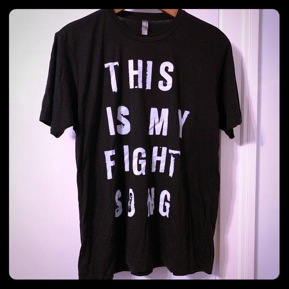 Other - Rachel Platten Fight Song t-shirt, XL
